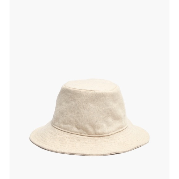 7297382d3 NWOT Madewell Short-Brimmed Canvas Bucket Hat